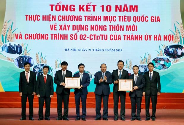阮春福:新农村建设是推进首都农村地区全面发展的一股风 hinh anh 3