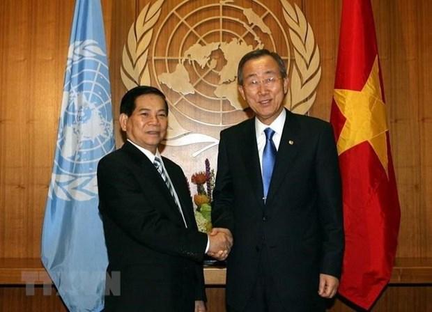 越南加入联合国42周年:扬帆出海 hinh anh 1