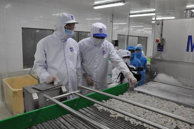 金瓯省树立主要产品的品牌形象 hinh anh 1