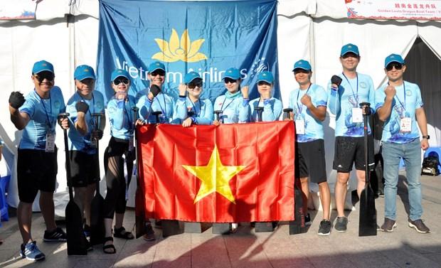 越航龙舟队出征2019年上海世界华人龙舟邀请赛 hinh anh 1