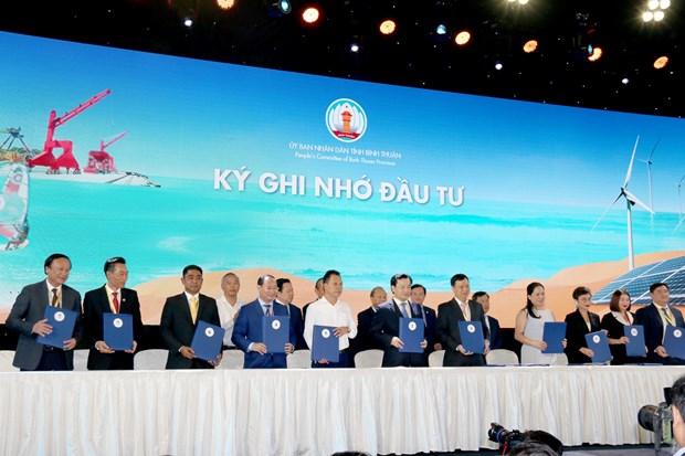 政府副总理张和平出席2019年平顺省投资促进会议 hinh anh 2