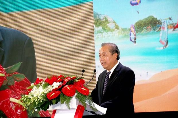 政府副总理张和平出席2019年平顺省投资促进会议 hinh anh 1