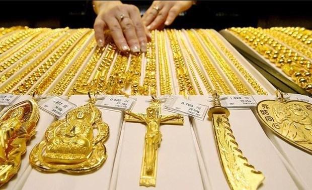 9月23日越南国内黄金价格保持在4200万越盾以上 hinh anh 1