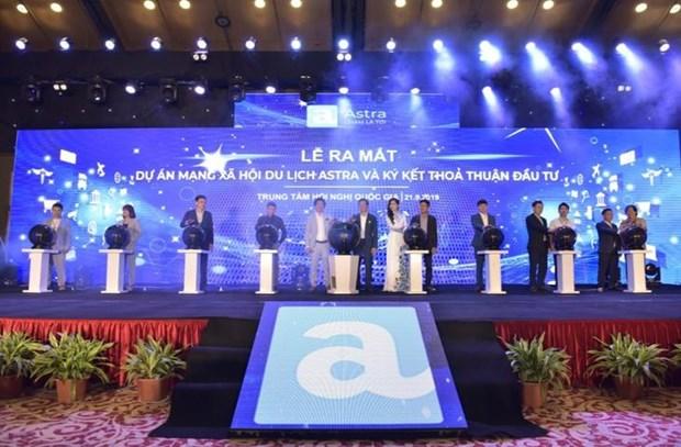 越南阿斯特拉旅游社交网正式启用 hinh anh 1