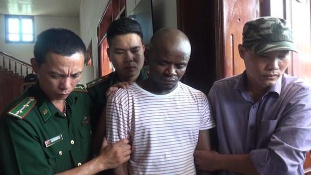 越南公安单位破获一起跨境贩毒案 缴获14.7公斤冰毒 hinh anh 1