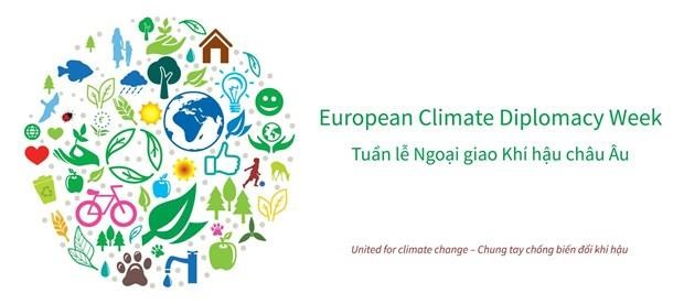 2019年欧洲气候外交周:呼吁青年携手行动 hinh anh 1