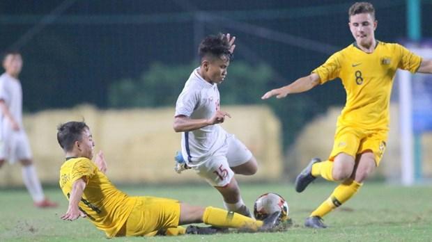 越南U16国足在2020年亚洲U16足球锦标赛预选赛H组排名第二 hinh anh 1