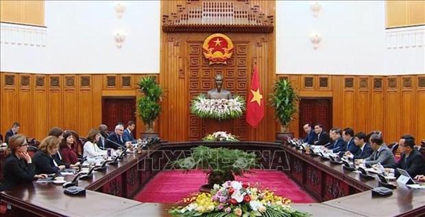 世行经济学家:世行愿意协助越南参加全球价值链 hinh anh 1