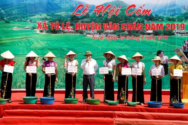 秀丽乡扁米节:推崇泰族同胞传统文化价值 hinh anh 1
