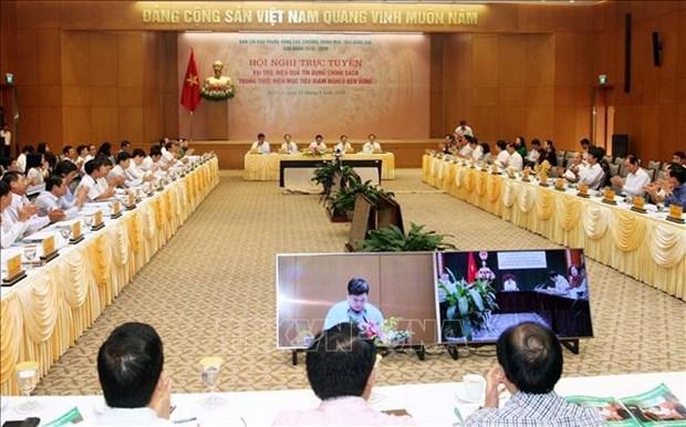王廷惠:政策性贷款是可持续扶贫国家目标计划中的重要支柱 hinh anh 2