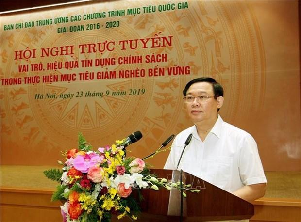 王廷惠:政策性贷款是可持续扶贫国家目标计划中的重要支柱 hinh anh 1