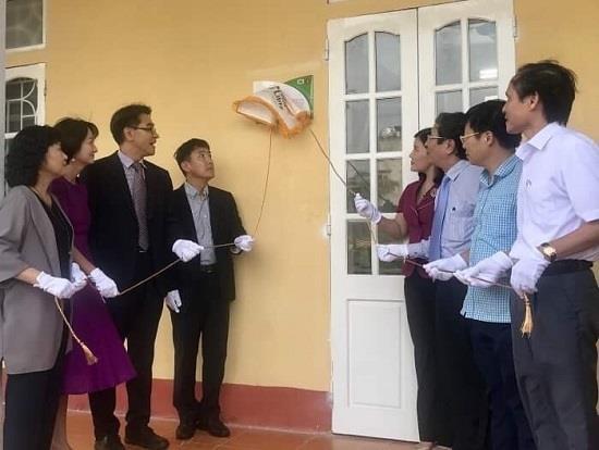 韩国资助越南学校兴建小型校园图书馆 hinh anh 2
