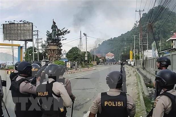 印尼巴布亚省发生的骚乱造成20人死亡 hinh anh 1
