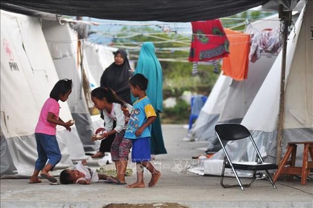 印尼帕卢地震海啸后一年 近6万人仍住在临时住所 hinh anh 2
