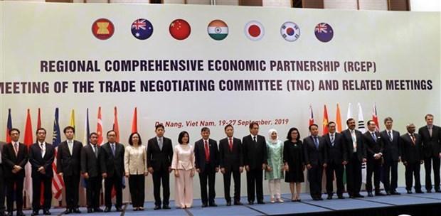 RCEP第28轮谈判在越南岘港市举行 hinh anh 1