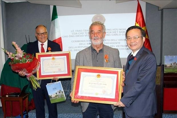 越南国会副主席冯国显对意大利进行工作访问 hinh anh 1