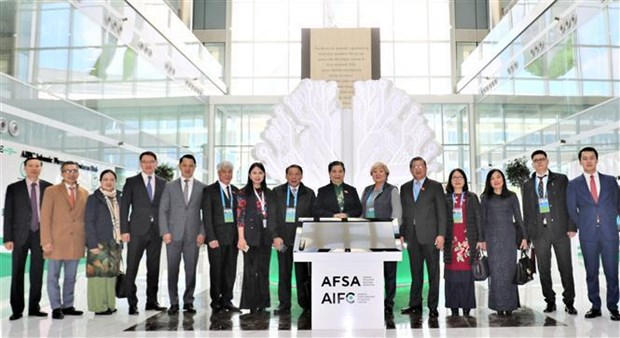越南国会与欧亚各国议会加强合作 hinh anh 1