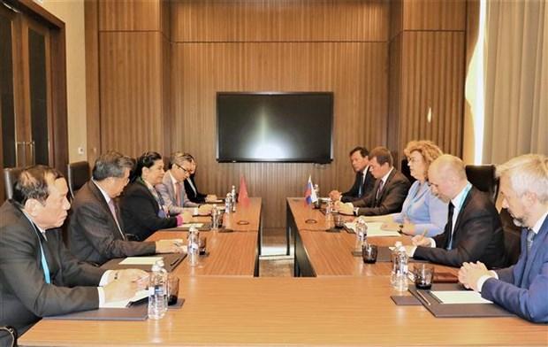 越南国会与欧亚各国议会加强合作 hinh anh 2