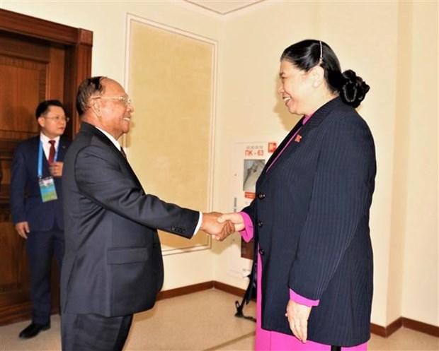 越南国会与欧亚各国议会加强合作 hinh anh 4