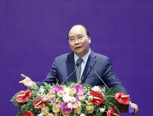 阮春福总理:为机械企业创造发展空间 hinh anh 1
