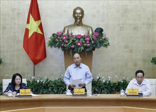 越南政府总理阮春福:对竞赛奖励工作改革5周年进行总结和评估 hinh anh 1