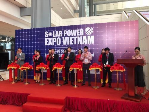 2019年越南太阳能展在河内开幕 hinh anh 1