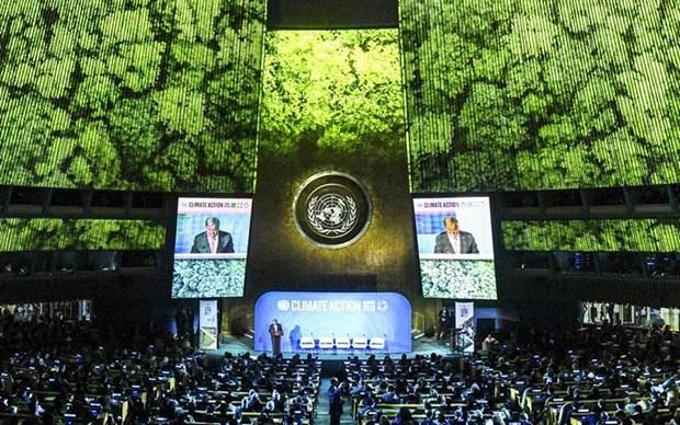 东盟承诺同世界一道努力有效应对气候变化 hinh anh 1