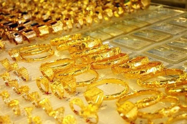 9月25日越南国内黄金价格上涨25万越盾 hinh anh 1