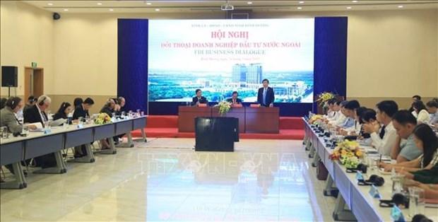 平阳省政府承诺为外国企业创造最佳条件 hinh anh 1
