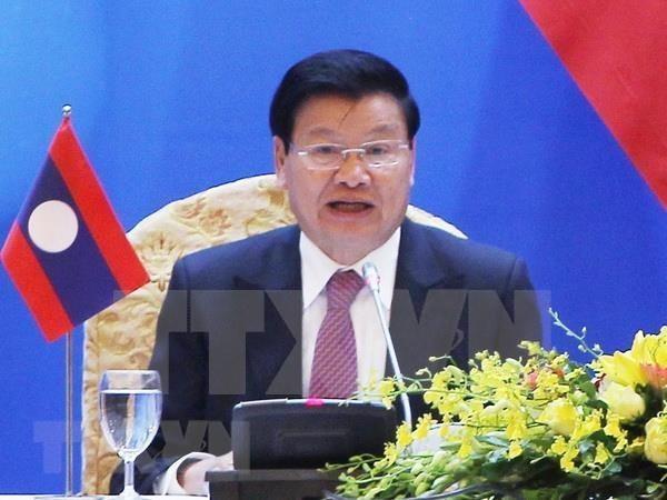 老挝政府总理通伦·西苏里即将对越南进行正式访问 hinh anh 1