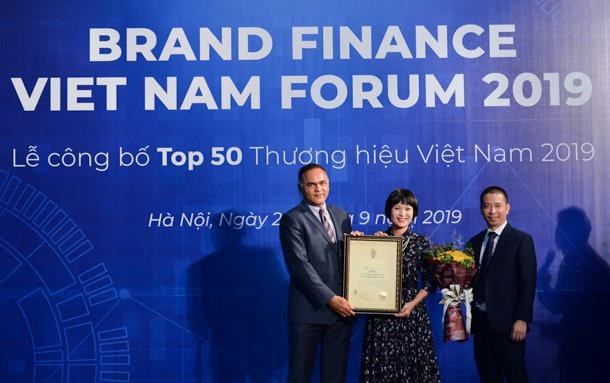 Viettel在2019年越南最具价值品牌50强名单中排在首位 hinh anh 1