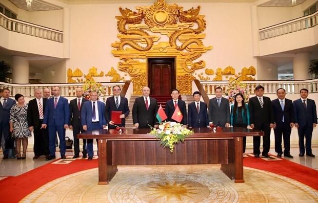 越南与白俄罗斯进一步加强经贸投资合作 hinh anh 2