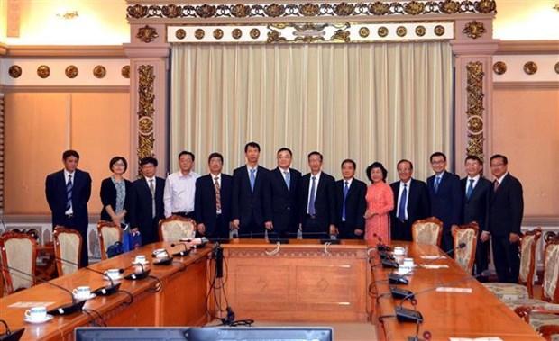 胡志明市与中国江苏省加强民选机关的合作 hinh anh 2