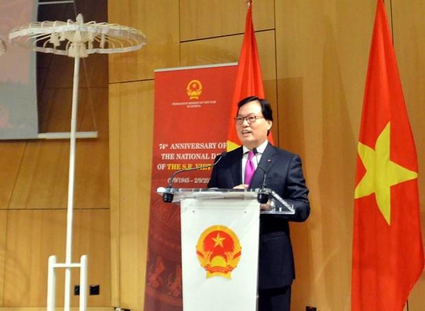 越南常驻联合国代表:越南优先保护与弘扬民族传统文化特色 hinh anh 2