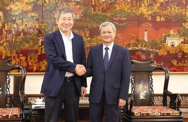 北宁省与韩国企业加强合作 hinh anh 1