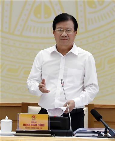 阮春福:推进公共投资拨付是重大而紧迫的政治任务 hinh anh 2