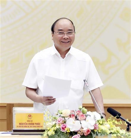 阮春福:推进公共投资拨付是重大而紧迫的政治任务 hinh anh 3