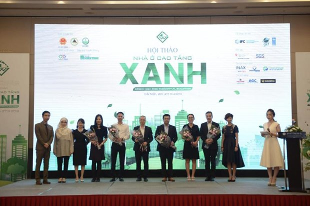 2019年越南绿色建筑周热闹举行 hinh anh 1