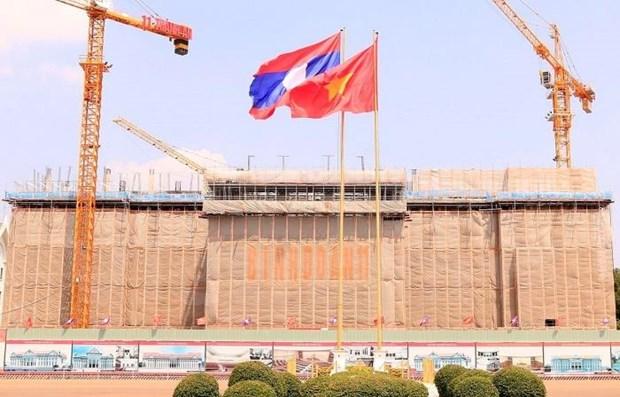 老挝新国会大厦——越老两国团结的象征 hinh anh 1