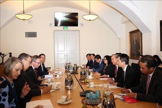 芬兰重视发展与越南多方面的合作 hinh anh 1