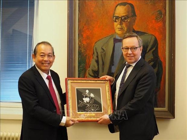 芬兰重视发展与越南多方面的合作 hinh anh 2