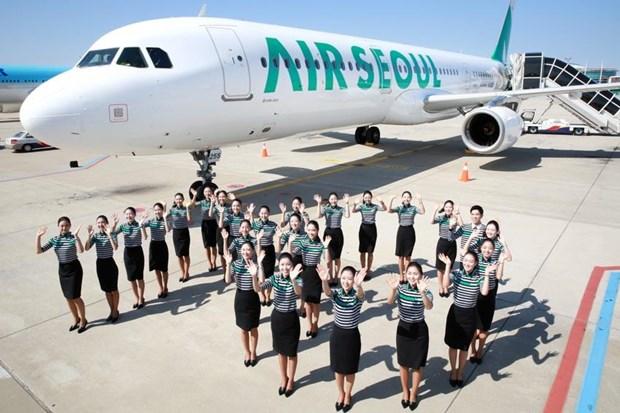韩国首尔航空公司即将开通飞往越南首都河内的航线 hinh anh 1