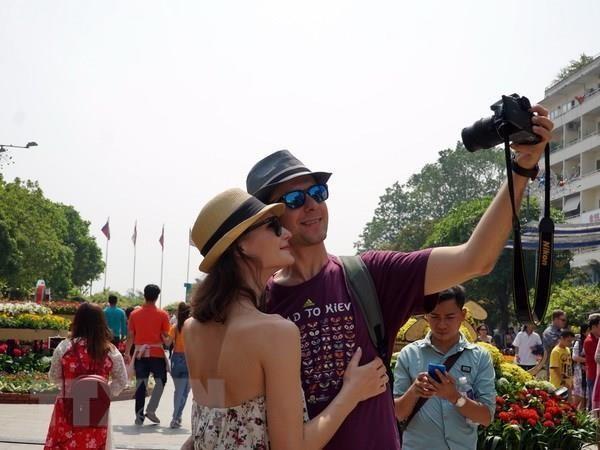 2019年前9月胡志明市接待国际游客量同比增长14.3% hinh anh 1