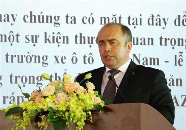 白俄罗斯副总理出席马兹亚洲汽车制造厂落成典礼 hinh anh 2