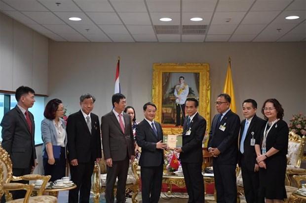 越南祖国阵线中央委员会代表团对泰国进行工作访问 hinh anh 2