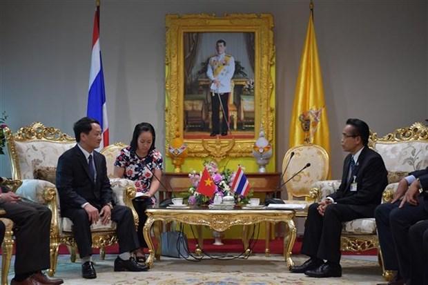 越南祖国阵线中央委员会代表团对泰国进行工作访问 hinh anh 1