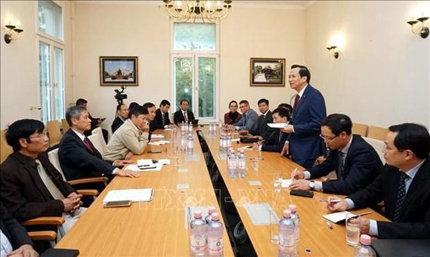越南代表团赴德国了解双元制职业教育模式 hinh anh 2
