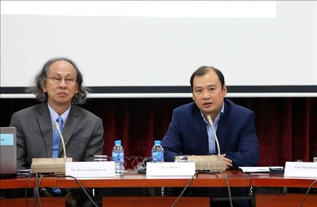 泰国担任东盟轮值主席国及东盟在各成员国乃至地区发展中的作用 hinh anh 1