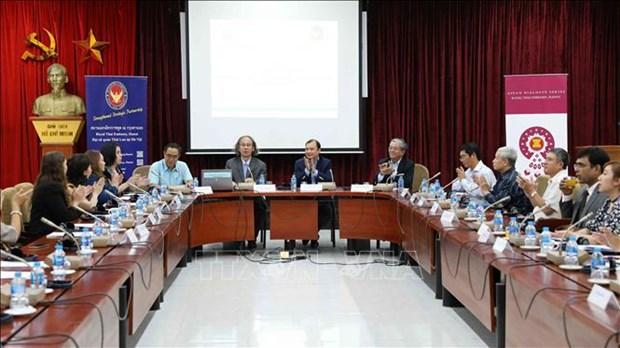 泰国担任东盟轮值主席国及东盟在各成员国乃至地区发展中的作用 hinh anh 2