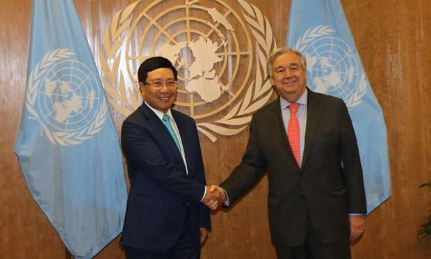 越南政府副总理范平明:激发多边主义活力 致力于和平与可持续发展 hinh anh 2